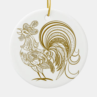 Year of the Rooster Chinese New Year Ornament