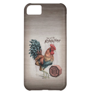 Year of the Rooster Chinese Zodiac Art Case For iPhone 5C