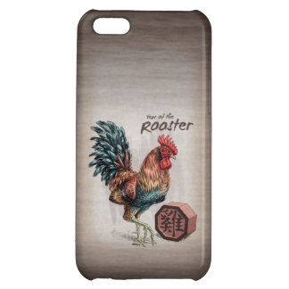 Year of the Rooster Chinese Zodiac Art iPhone 5C Case