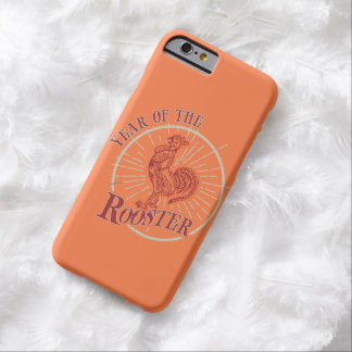 """""""Year Of The Rooster iPhone"""" Barely There iPhone 6 Case"""