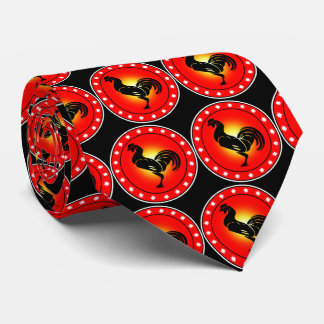 Year of the Rooster Tie