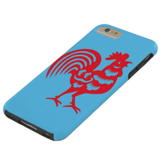 """Year of The Rooster"" Tough iPhone 6 Plus Case"