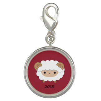 Year of the Sheep 2015 Jewelry Charm