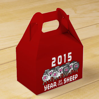 Year of The Sheep Ram Goat Favour Box