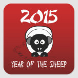 Year of The Sheep Ram Goat Sticker