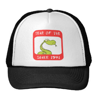 Year of The Snake 1941 Trucker Hats