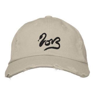 Year of the Snake 2013 - Chinese New Year Embroidered Baseball Cap