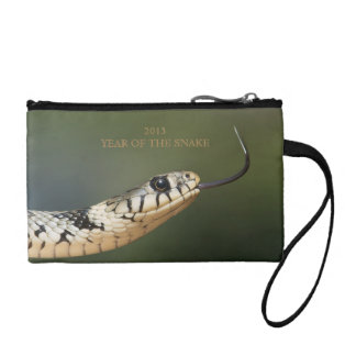 Year of the snake 2013 custom snake photo, gift coin purse
