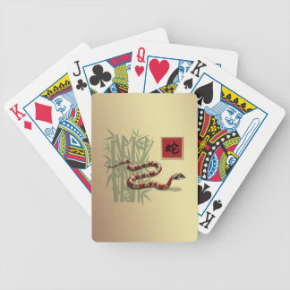Year of the Snake Gift Playing Cards