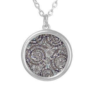 year of the snake silver plated necklace