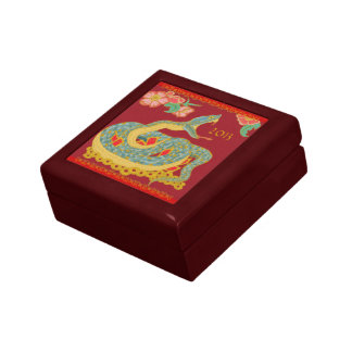 Year of the Snake Small Square Gift Box