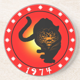 Year of the Tiger 1974 Coaster