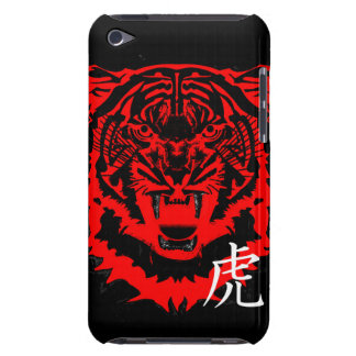 Year of the Tiger Artwork in Black and Red iPod Touch Covers