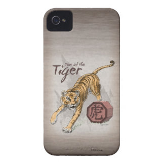 Year of the Tiger Chinese Zodiac iPhone 4 Case