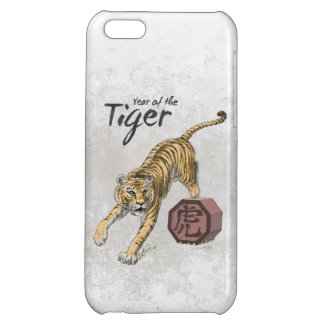 Year of the Tiger Chinese Zodiac Case iPhone 5C Cover