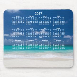 Yearly Beach Calendar 2017 Mousepads Add Photo
