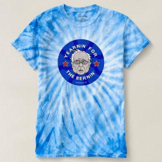 Yearnin' for the Bernin' Bernie Psychedelic T-Shirt