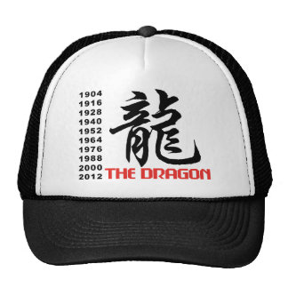Years of The Dragon Mesh Hats