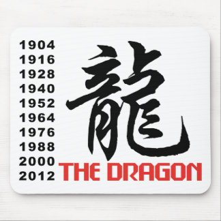 Years of The Dragon Mouse Mat