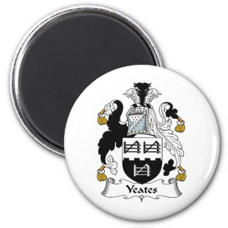 Yeates Family Crest Magnet
