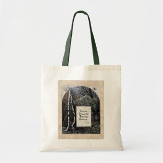 "Yeats ""The Stolen Child"" Victorian Tote Bag"