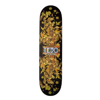 YEBO Burning Monk Skateboards