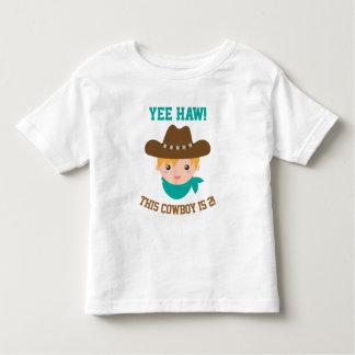 Yee Haw, Cute Little Cowboy is 2 Tshirts
