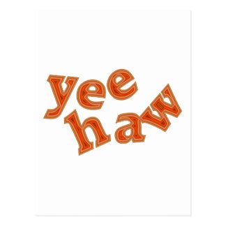 yee-haw postkarten