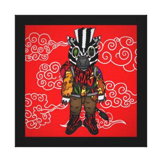 Yeezy Zebra Canvas Print