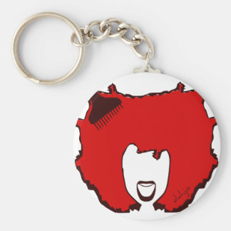 YELL OUT LOUD in RED Key Ring