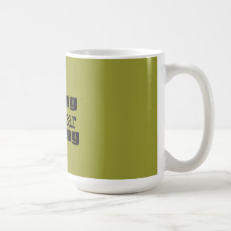 Yelling IS Fear Barking Classic White Coffee Mug