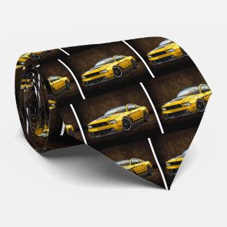 Yellow 2012 Boss 302 Tie