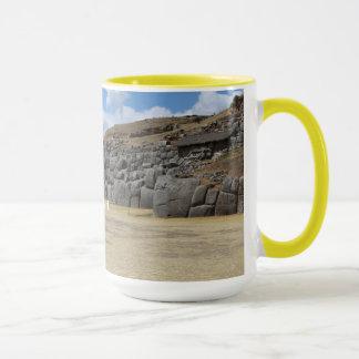 Yellow 444 ml Ringer Combo Mug