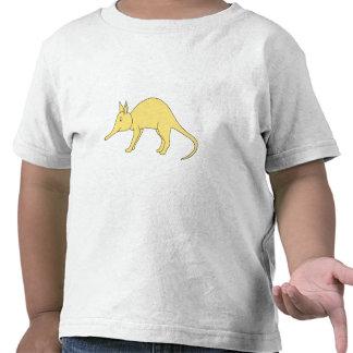 Yellow Aardvark. Cute Cartoon Animal Shirt