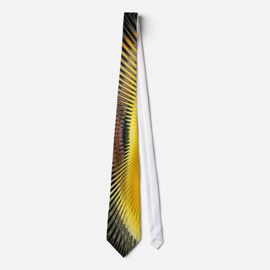 Yellow Abstract 2 ~ tie