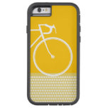 yellow Abstract Bicycle dots