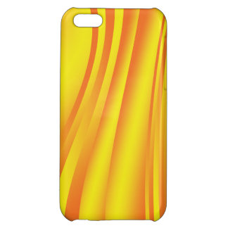 Yellow Abstract Case For iPhone 5C