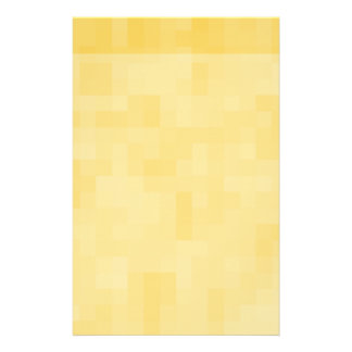 Yellow Abstract Design. Stationery