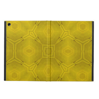 Yellow abstract pattern case for iPad air