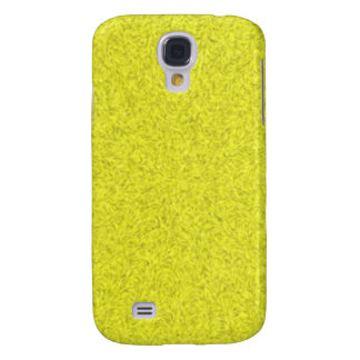 Yellow abstract pattern galaxy s4 case