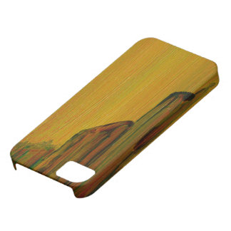 Yellow Abstract - Pier Case For The iPhone 5