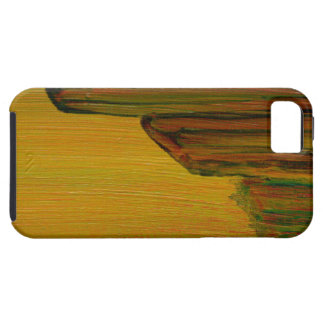 Yellow Abstract - Pier Tough iPhone 5 Case