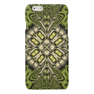 Yellow abstract trendy pattern iPhone 6 plus case