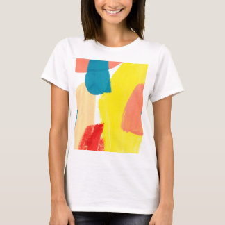 Yellow Abstraction T-Shirt