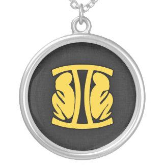 Yellow Amber Gemini Jewelry