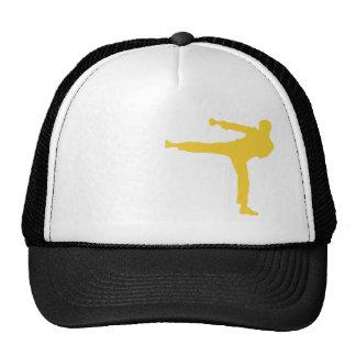Yellow Amber Martial Arts Hats