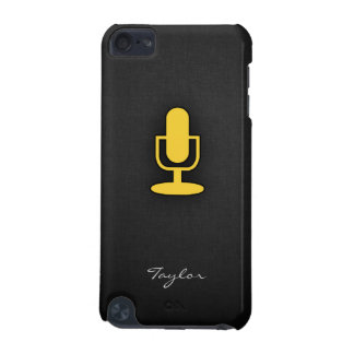 Yellow Amber Microphone iPod Touch (5th Generation) Cases