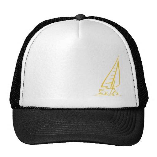 Yellow Amber Sailing Mesh Hat