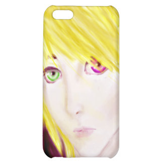 Yellow and Black Anime Boy Skater iPhone 5C Cover
