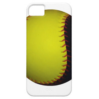 Yellow and Black Baseball / Softball iPhone 5 Covers